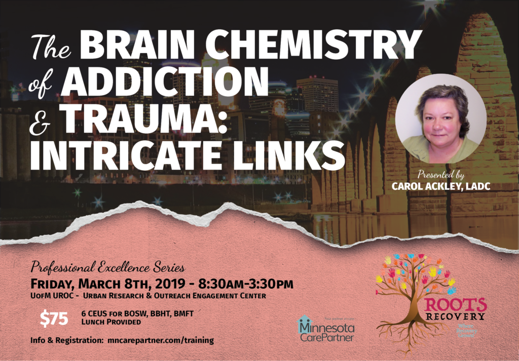 The Brain Chemistry of Addiction & Trauma: Intricate Links : Minnesota  CarePartner